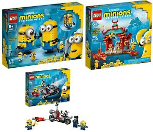 LEGO® Minions 75551 75550 75549 Minions-Figuren Kung Fu Tempel VORVERKAUF 06/21