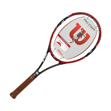 Wilson Pro Staff 97 Federer Tennis Racquet 4 3/8 Inches Red/Black