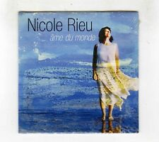 CD SINGLE PROMO (NEUF) NICOLE RIEU AME DU MONDE