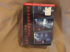 Paranormal Activity 1, 2 & 3 (Three-Movies) New DVD