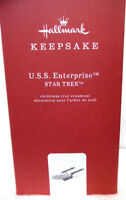 HALLMARK 2018 U.S.S. Enterprise STAR TREK - All Metal Premium Ornament QX13493