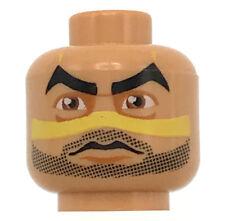 LEGO NEW FLESH MINIFIGURE INDIAN HEAD FACE PAINT ALIEN BEARD STUBBLE PIECE