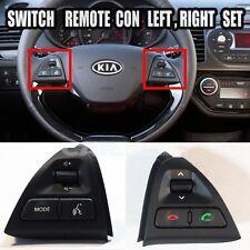 KIA Picanto  11~14 Steering Wheel Remote Control Switch LEFT  RIGHT 1Set