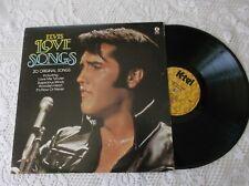 Elvis Love songs LP Album  Canada pressing