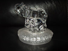 Elephant Baby Royal Crystal Rock Glass Ornament Figurine RCR