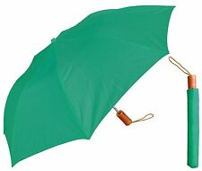 "42"" Collapsible Auto-Open Deluxe Umbrella - RainStoppers Rain/Shine UV Outdoors"