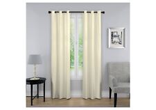 Eclipse Curtain Nikki Thermaback Blackout Ivory 40X95