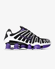Nike Shox TL Black Shoes Black-Purple-White Trainers