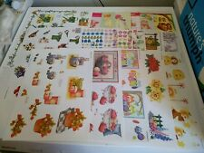 20X 3D SHEETS FOR MAKE CARDS NEW 30X21 CM/ SCISSORS NEED   (A104) MIX