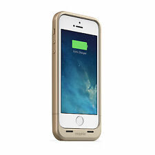 100 mophie Juice Pack Air 1700mah iPhone 5 5s SE Gold Battery Charger Case