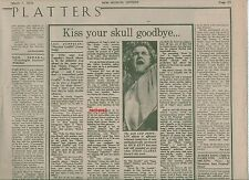 LED ZEPPELIN Physical Graffiti album review (NME) 1975 UK  ARTICLE / clipping