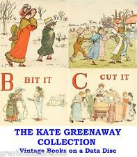 The Kate Greenaway Collection Vintage Illustrated Children's Books on Data Disc