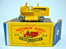 Matchbox RW 8C Tractor silberne Rollen in MOKO Box