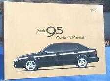 New Rare Original Saab 95 Handbook Owners Manual 2000