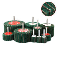 Interleaf Flap Non-woven Wheel Abrasive Polishing Rotary Tool 180# 20-100mm New