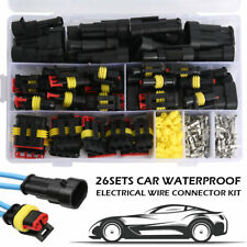 352x Waterproof Car Auto Electrical Wire Connector Plug 1 4 Pin Way Plug Kit Set
