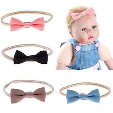 4pcs Hot Kids Girls Baby Headband Set Toddler Headwear Bowknot Hair Band