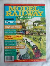 Model Railway Enthusiast - March 1999 - modelling a canal scene