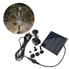 Solar Teichpumpe SolarPumpe Fontäne Gartenteich Springbrunnen Wasserspiel 1.2W