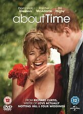 About Time 2014 Rachel McAdams, Bill Nighy, Tom Hollander, NEW SEALED UK R2 DVD