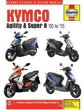 2005-2015 Kymco Agility Super 8 Scooter Repair Service Workshop Manual 10341