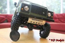 Custom Aleación Sumidero Protector para 4x4 Gelande 2 Escala Crawler RC4WD D90 Landrover