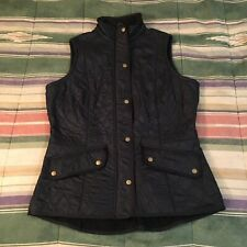 Barbour Quilted Vest Fleece Lined Jacket Womans Usa 12