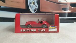 REVELL METAL  - AC COBRA 427 - RED PAINT - 1/43 SCALE MODEL CAR - 28112