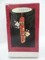 1994 Hallmark Keepsake Christmas Ornament- Jingle Bell Band- Mouse
