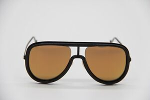 New Authentic Sunglasses Fendi FF M0068/S 2M2 Black Gold Unisex Aviator Eyewear
