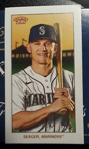2021 Topps T206 wave 2, Kyle Seager - Cycle Parallel - Mariners