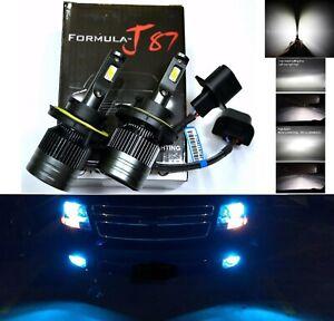 LED Kit G8 100W 9008 H13 10000K Blue Two Bulbs Head Light Upgrade Dual Beam Fit