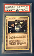 Pokemon 2005  Championship Arena Psa 9 Trophy Card 2005 World Championships