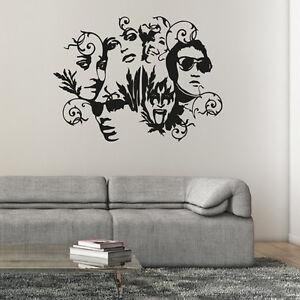 Wandtattoo Stars Silhouette Personen Abstrakt Aufkleber Wand Tattoo #2125