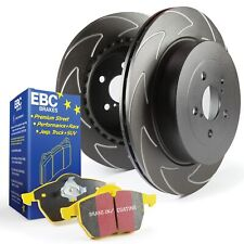 EBC Front BSD Brake Discs & Yellowstuff Pads Kit For VW Golf Mk5 Gti Edition 30