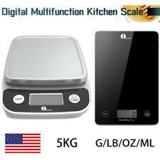 Electronic Kitchen Scales Digital LCD Bowl Cooking Food Baking Weighing Cake