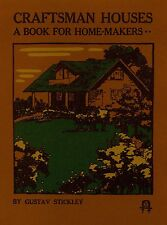 Gustav Stickley - Craftsman Houses - New Catalog Reprint