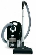 New Miele Compact C1 Turbo Team Canister Vacuum - Obsidian Black - 41CAE034USA @