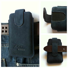 Samsung Galaxy J1 mini / ASSEM echt leder Gürteltasche Handy Tasche Hülle Etui
