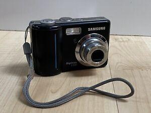 Samsung Digimax S500 5.1MP Digital Camera - black 3x zoom