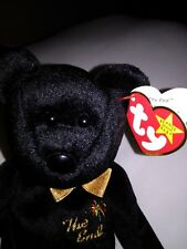 03b57490e3c Ty Beanie Baby THE END Bear - Retired with ERRORS - Excellent Condition  1999.