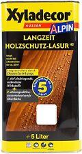 Xyladecor Alpin Langzeit Holzschutzlasur, Mittelschichtlasur Farbwahl 5 L
