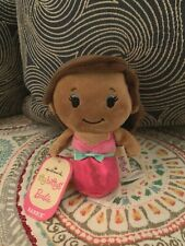 NEW Hallmark Itty Bitty Bittys Black African American Barbie Plush Doll Pink