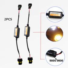 1 PAir 9005 LED DRL Fog Light Error Flicker Auto Car Headlight Decoder Device