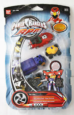 RARE POWER RANGERS RPM HIGH OCTANE MICRO MEGAZORD +BONUS ZORD BANDAI NEW SEALED!