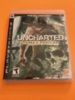 🔥 PS3 PLAYSTATION 3 🔥 💯 COMPLETE WORKING GAME 🔥 UNCHARTED DRAKES FORTUNE 🔥