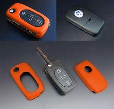 Für VW SEAT SKODA Klapp Schlüßel Cover Key Cover Schlüssel Fernbedienung Orange