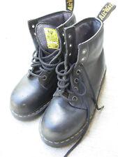 Dr. Martens Air Wair Industrial DM's Steel Toe Lace Up Boots Men's Size US 9 M