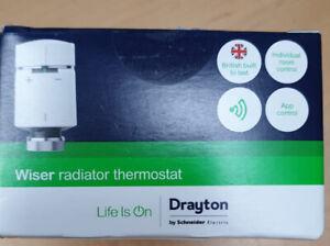 Drayton Wiser Smart Heating Radiator Thermostat Works with Amazon Alexa, Google