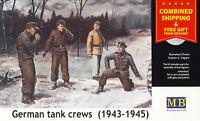 Master Box 3507 - 1/35 - German tank crew (1943-1945) Kit No1